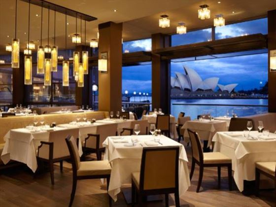 The Dining Room at Park Hyatt Sydney