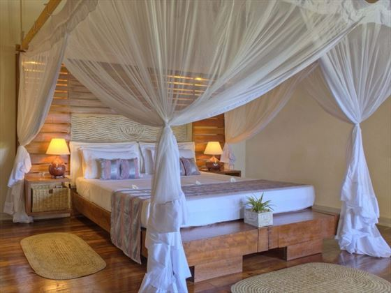 The Ocean Spa Lodge bedroom