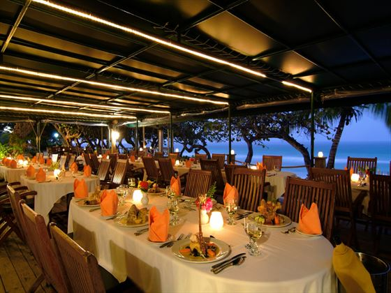 The Pasta House restaurant at Long Bay Beach Resort and Villas