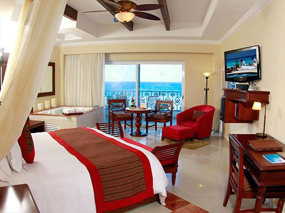 The Royal Cancun Royal Junior Ocean View Suite