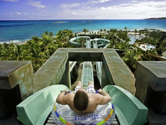 Man on The Surge at Atlantis Paradise Island