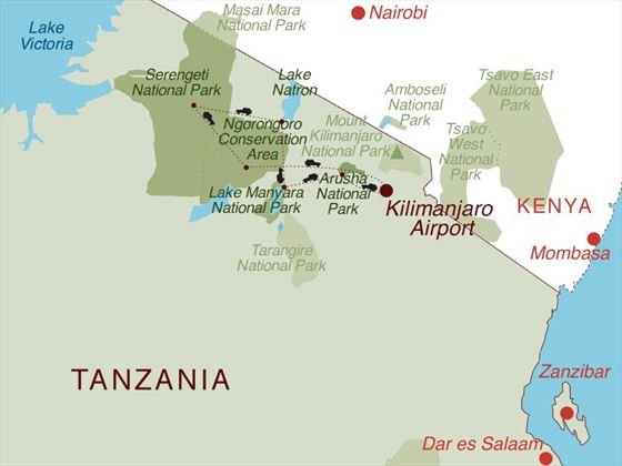 The Tanzania Explorer Map