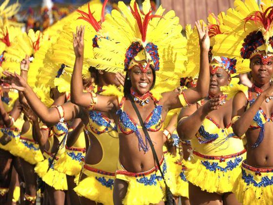 Parades at the carnival