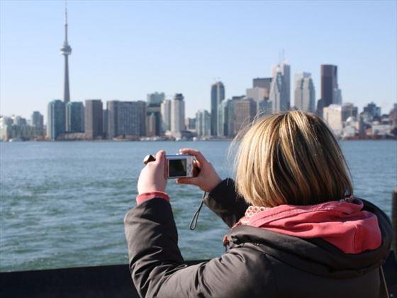 View Toronto from Lake Ontario