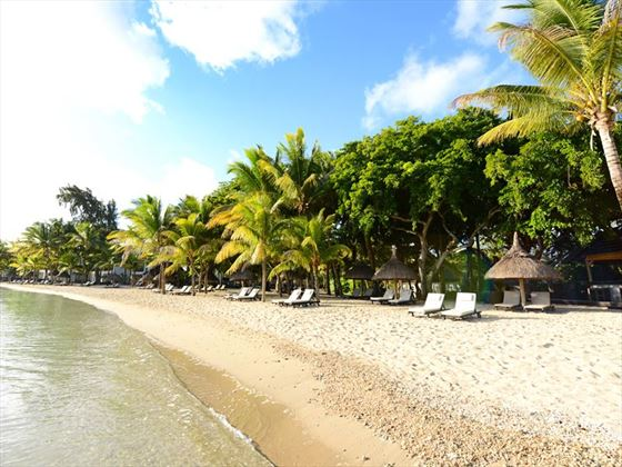 The Ravenala Attitude beach