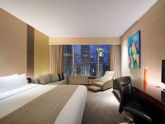 Traders Hotel Kuala Lumpur Twin Towers View Room