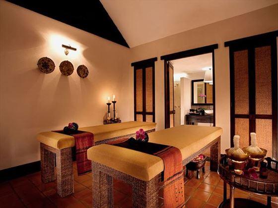 Treatment room at Tamarind Village Chiang Mai