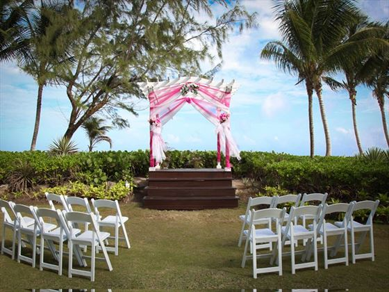 Your Caribbean wedding setting