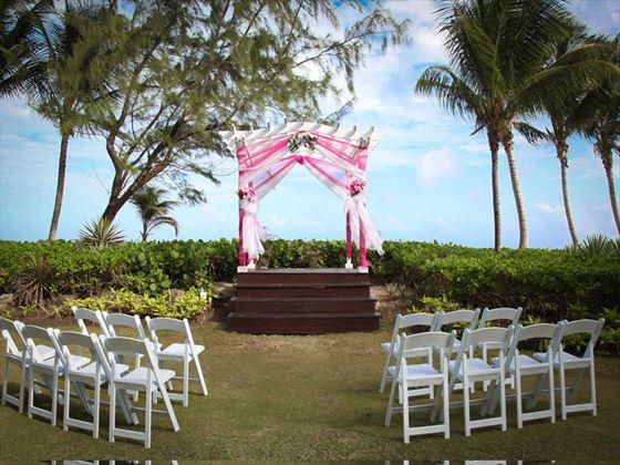 Your Caribbean wedding setting