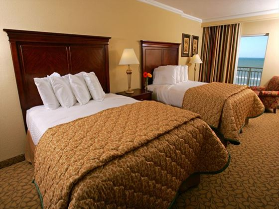 Twin room at Plaza Resort and Spa