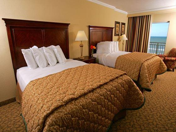 Twin room at Plaza Resort and Spa
