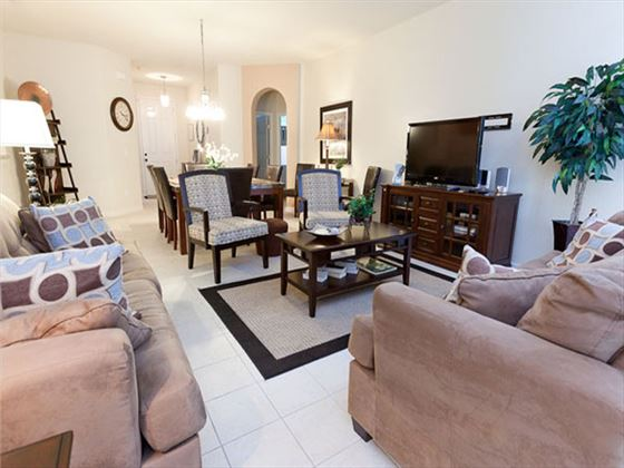 Typical Disney Area Executive Plus Living Room