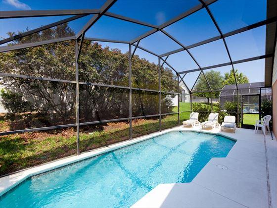 Typical Disney Area Executive Home Pool