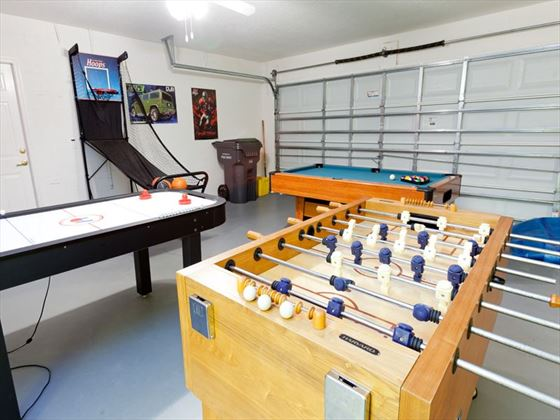 ... Typical Disney Area Platinum Games Room (optional) ...
