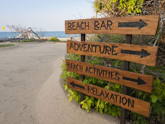 Choose your honeymoon activities at Uga Jungle Beach