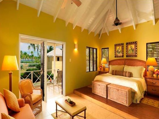 Upper Premier Suite at Nisbet Plantation Beach Resort