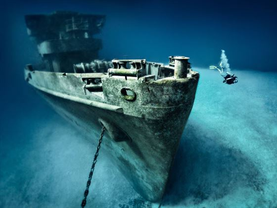 USS Kittiwake, Grand Cayman