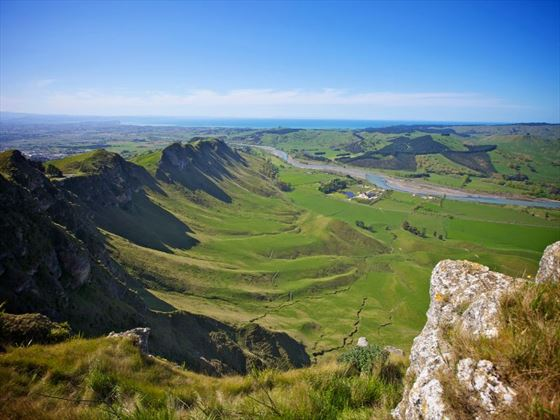 View from Te Mata Peak