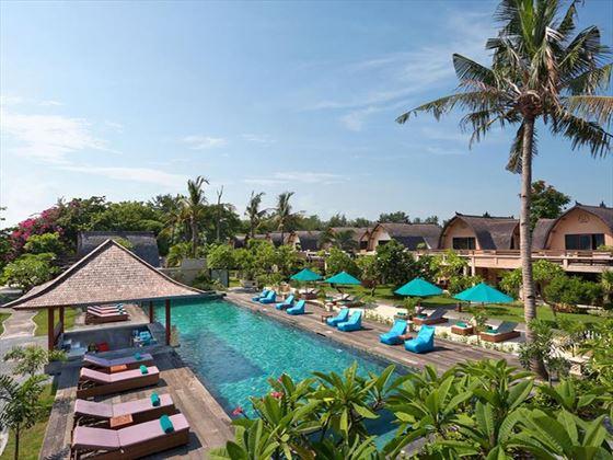 Pool at Vila Ombak, Gili Trawangan, Lombok