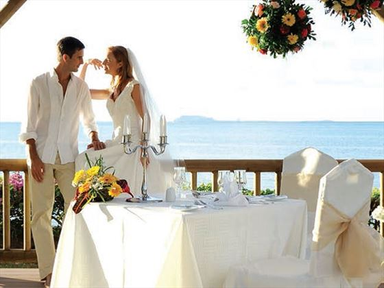 Creole style weddings at Veranda Palmar Beach