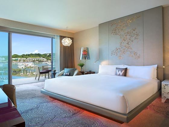 W Singapore – Sentosa Cove, Fabulous Room
