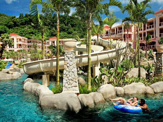 Water park at Centara Grand Beach Resort Phuket