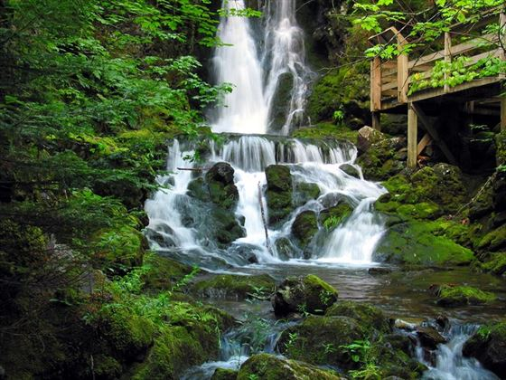 Waterfalls, Fundy National Park