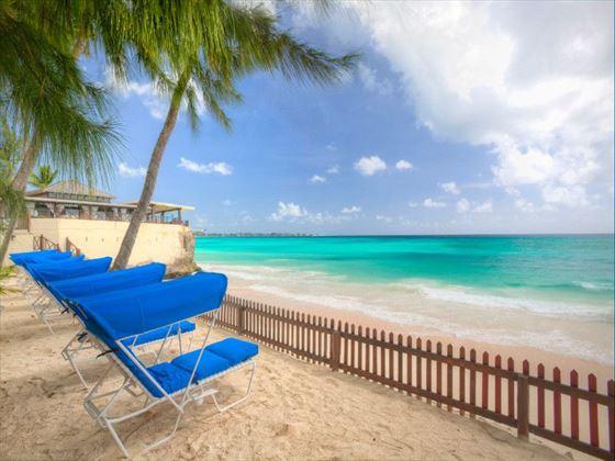 West beach at Sea Breeze Beach Hotel
