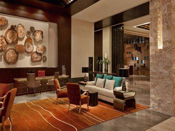 Westin Abu Dhabi lobby area