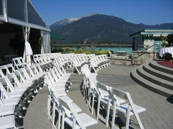 Fanstasic venue for a rooftop wedding
