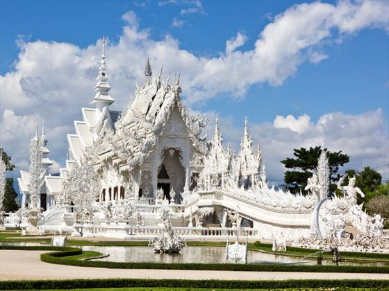White Temple in the Chiang Rai province