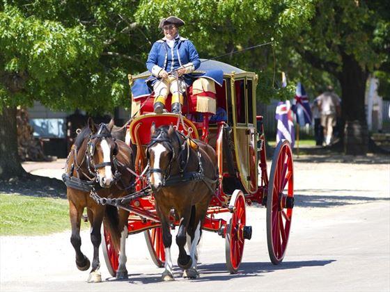 Williamsburg carriage