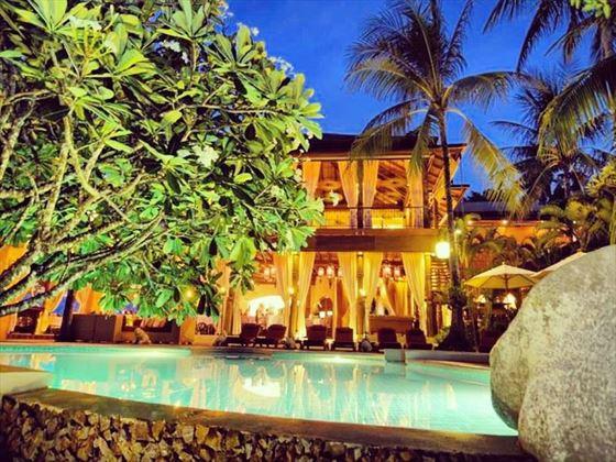 Zazen Boutique Resort & Spa by nightfall