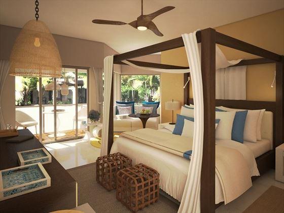 Junior Suite Tropical View - artist's impression