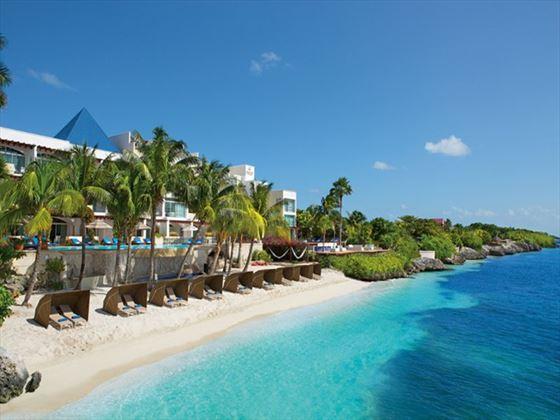 Zoetry Villa Rolandi Island Mujeres beach view