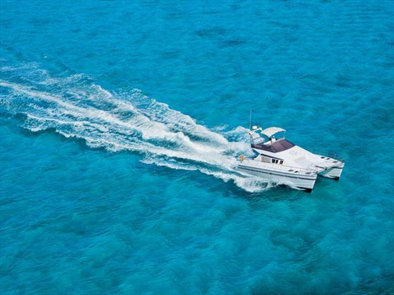 Zoetry Villa Rolandi Island Mujeres yacht