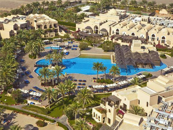 aerial view of miramar hotel fujairah
