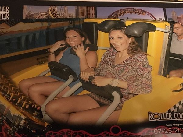 roller coaster ride in las vegas