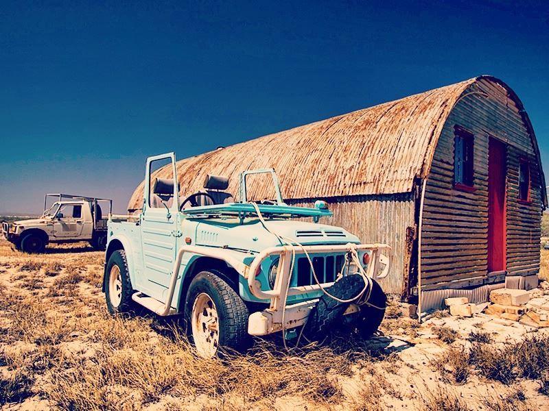abandoned jeep ningaloo station western australia