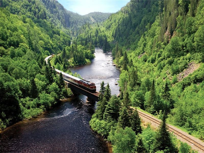Agawa Canyon Central Rail, Ontario