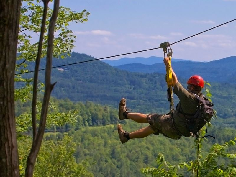 alpine adventures zipline new hampshire