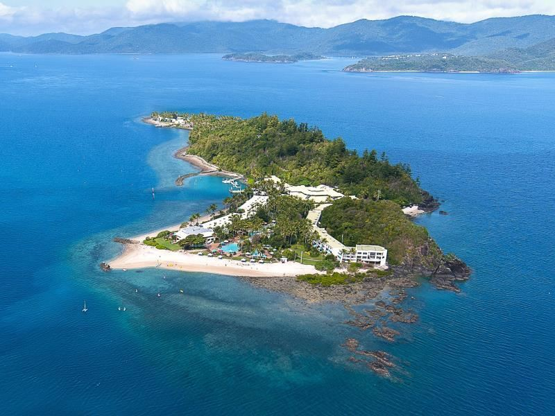 another aerial daydream island resort