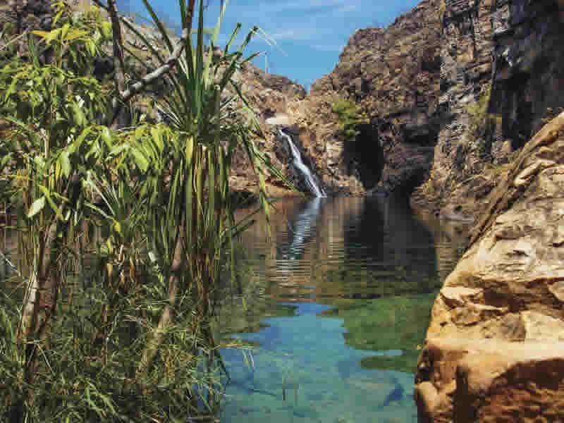 barramundi gorge kakadu northern territory