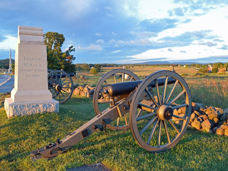 cannon monument gettysburg national military park