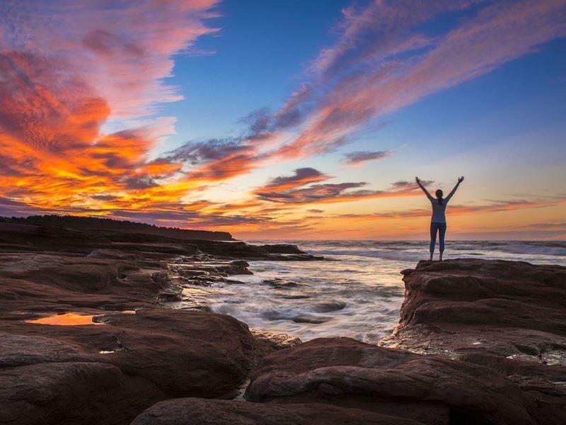 cavendish sunset prince edward island