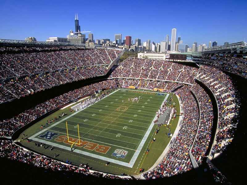 Soldier Field, home to the Chicago Bears
