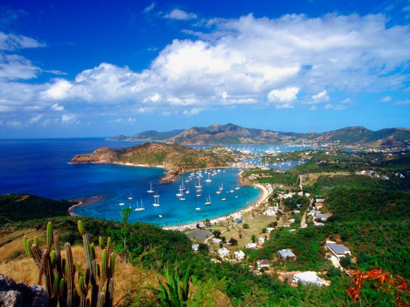 english harbour and falmouth harbor antigua