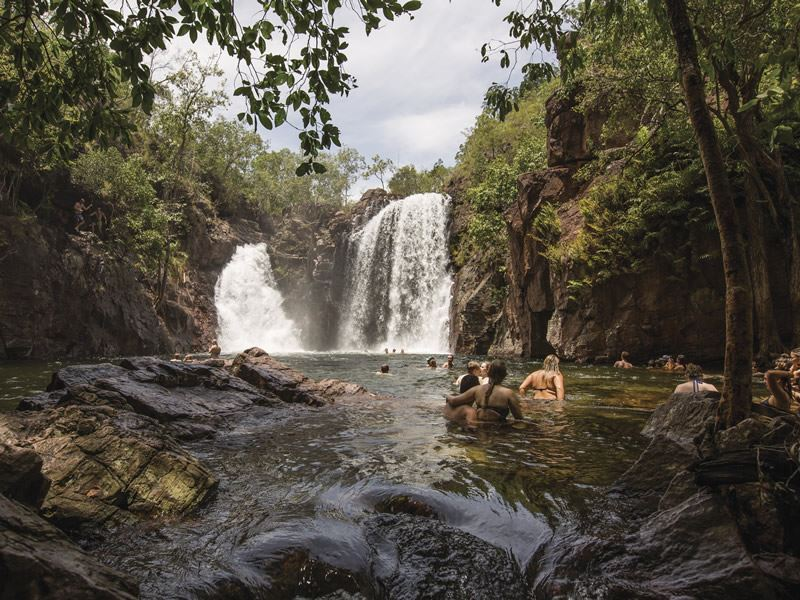 florence falls litchfield national park northern territory