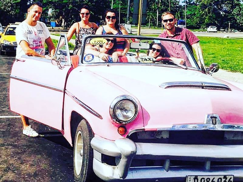 Havana classic car tour