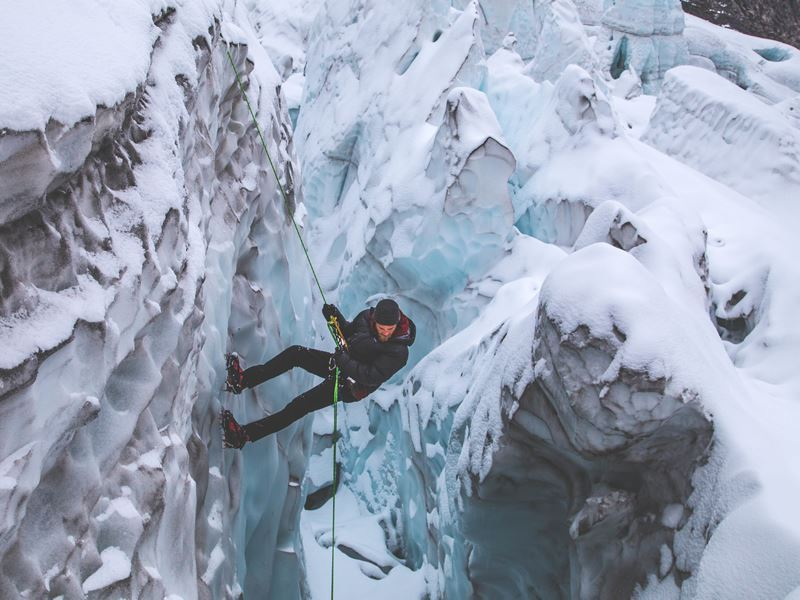 ice climbing spray valley alberta